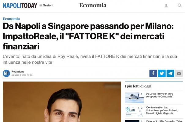 Napoli Today parla di ImpattoReale IV