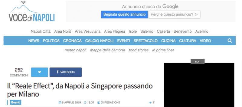 Voce di Napoli scrive di Roy e ImpattoReale IV